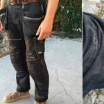 Snicker Ruffwork denim