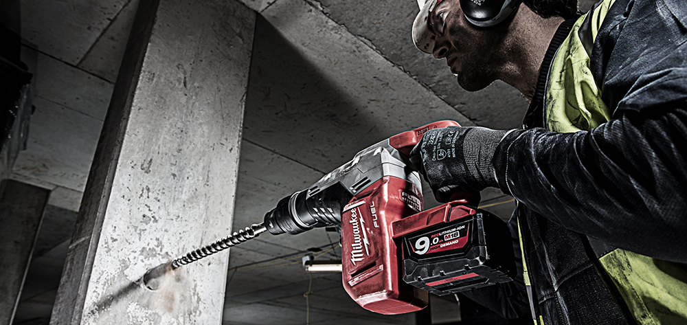 Milwaukee M18 fuel sds max kombihammer
