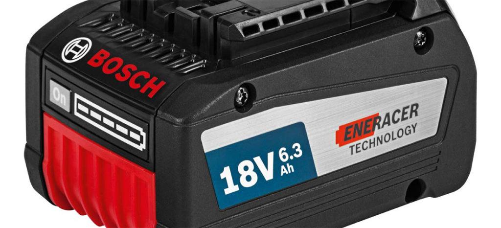 Bosch 18V Eneracer 6,3 Ah.