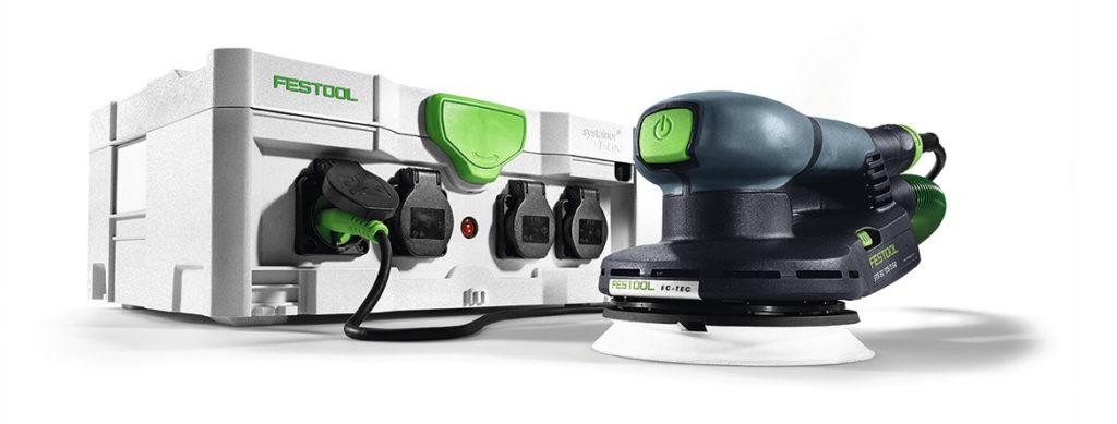 Festool SYS powerhub strømforsyning.