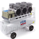 HBM Machines 70 liter kompressor