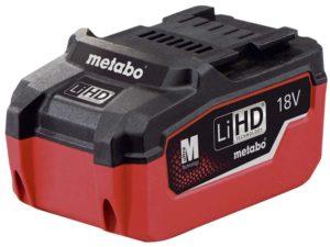 Metabo 18V LIHD batteri.