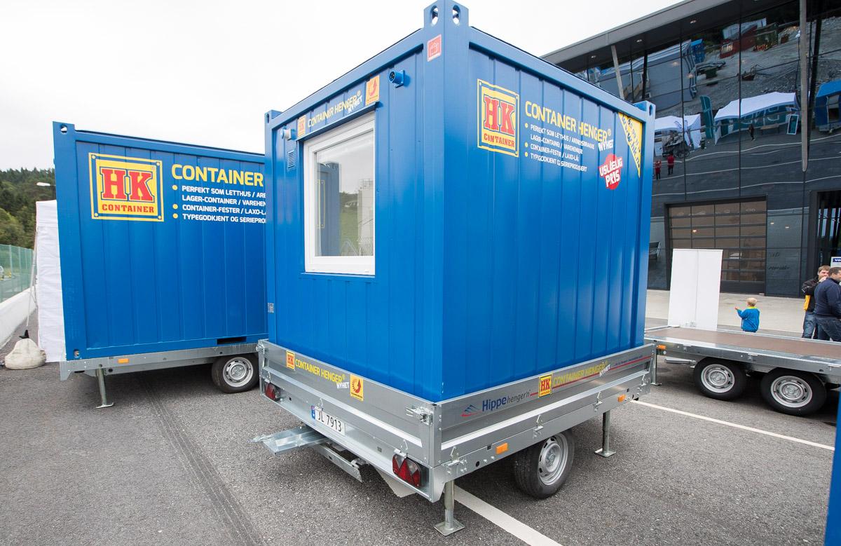 HK containertilhenger 8 fot