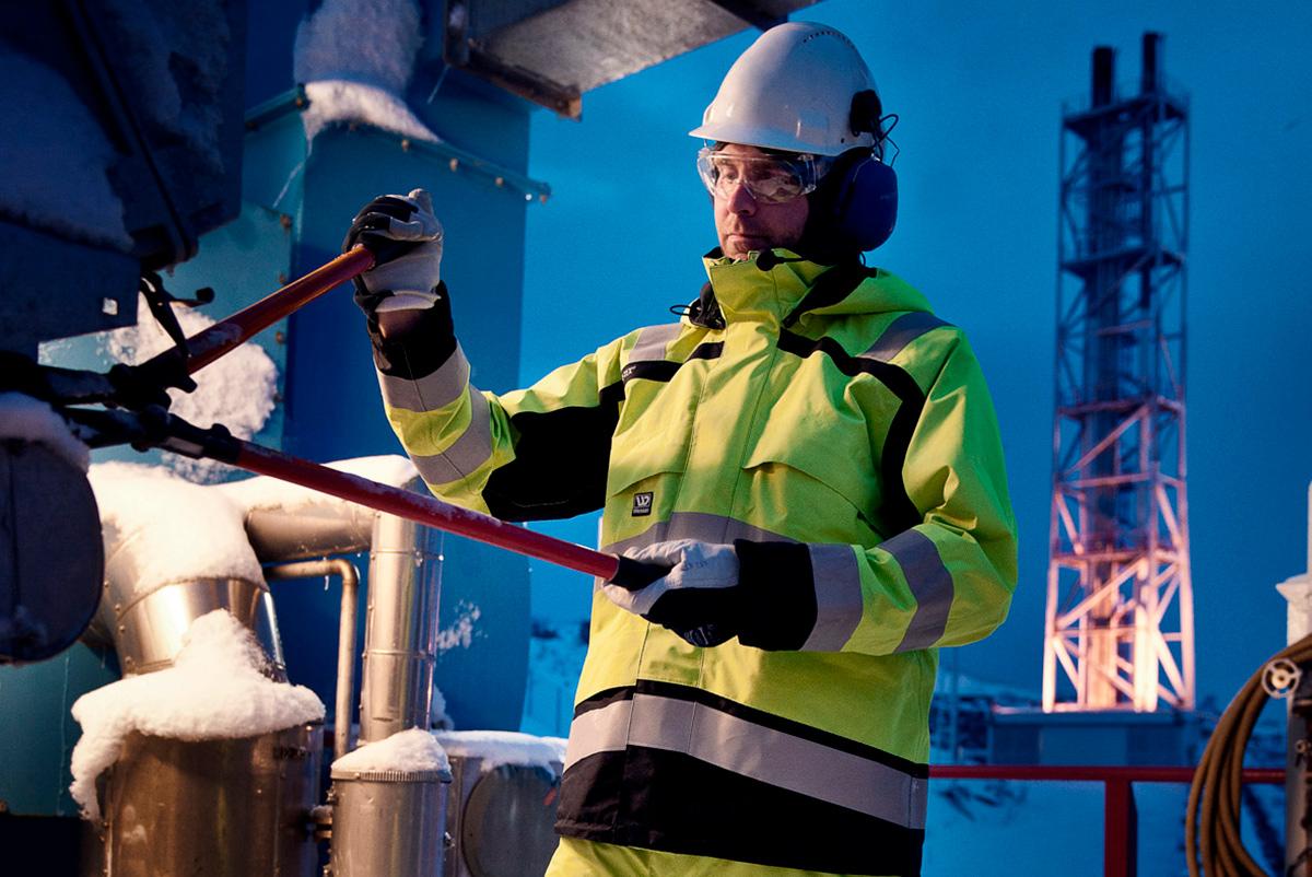 ba099717 Wenaas Arctic Protetion - nytt arbeidstøy for ekstreme forhold ...