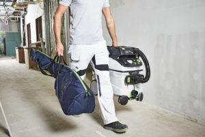 Planex Easy og støvsuger på vei til jobb.