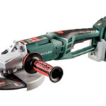 Metabo 230 mm vinkelsliper med 2x18V batteri.