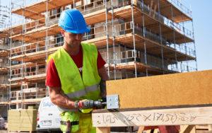 Montering av Redair Flex vinduskarm på dansk byggeplass