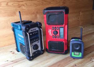 Makita DMR110, Milwaukee M18 og nusselige Festool Sysrock.