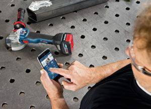 GWS 18V og Bosch Toolbox App