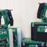 Hitachi NT1865 t.v. og NT1850 t.h. (Foto: O.K. Kompressorservice)