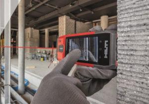 Hilti PD-CS laser avstandsmåler med kamera og WiFi.