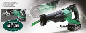 Hitachi CR18DBL bajonettsag med kurvet sagblad