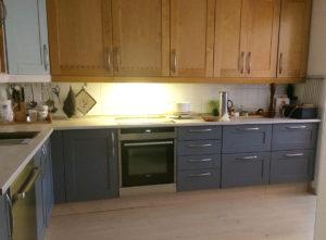 Maler kjøkkenfronter