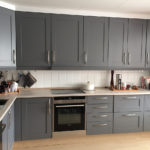 Kjøkkenfornyelse - etter maling
