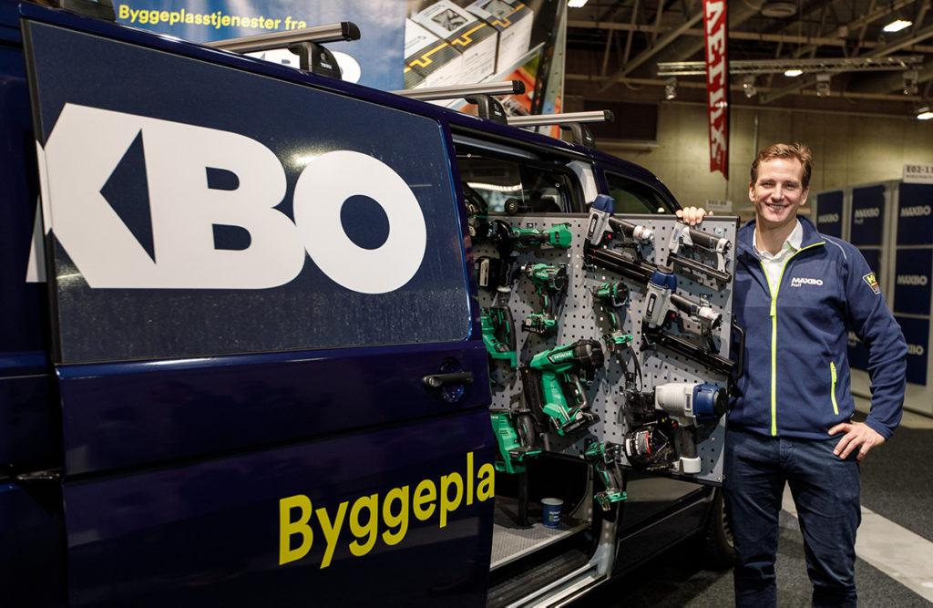 Erik Frellsen, prosjektleder i Maxbo Proff Byggeplasstjenester.