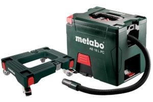 Metabo AS 18 L PC støvsuger. Her med tilhørende rullebrett