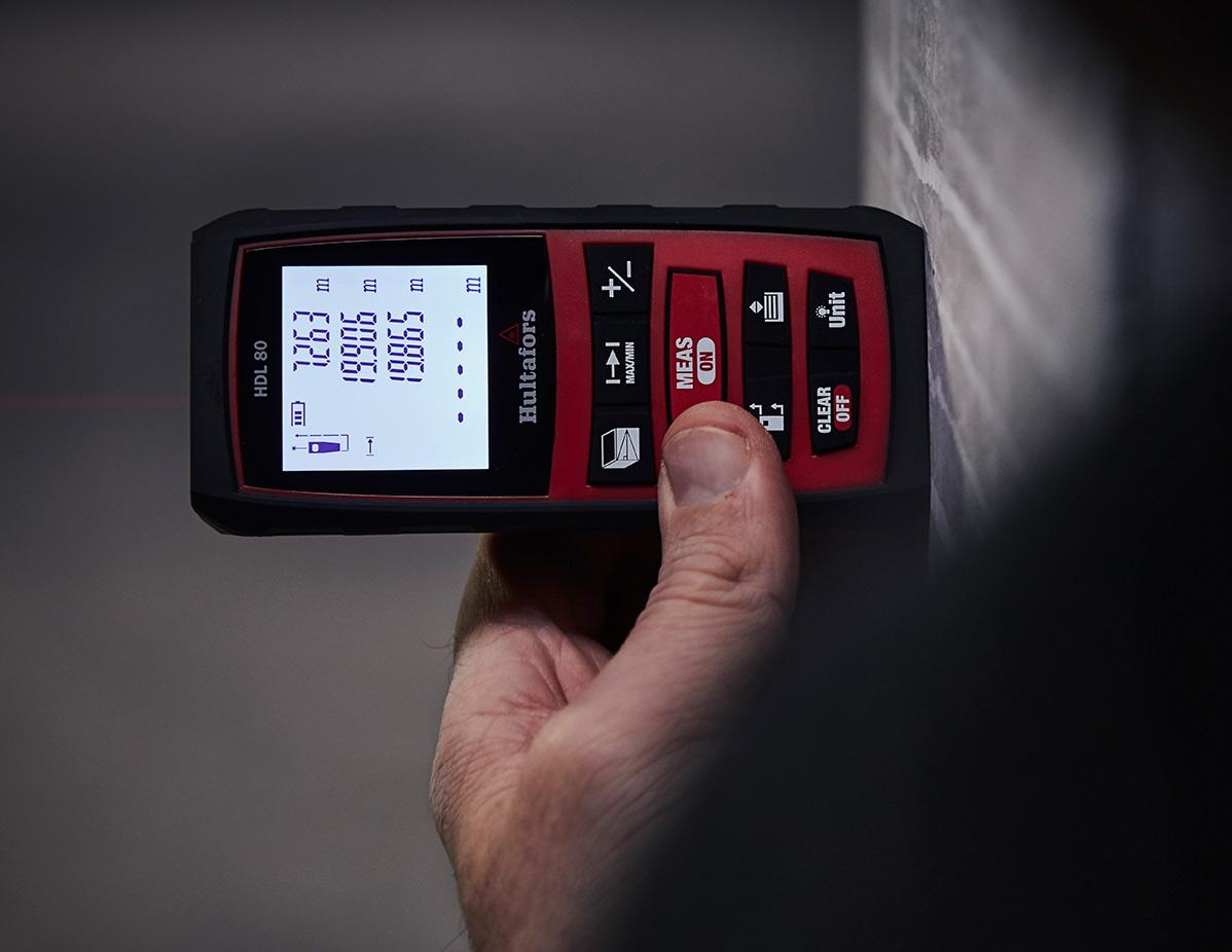 Hultafors HDL 80 avstandsmåler.