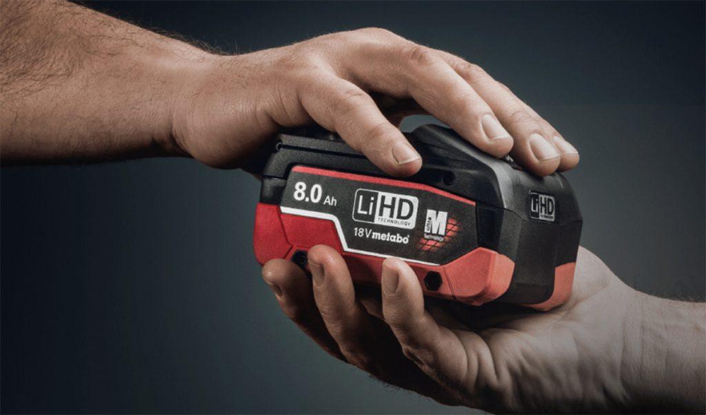 Metabo LiHD batteri garanti.