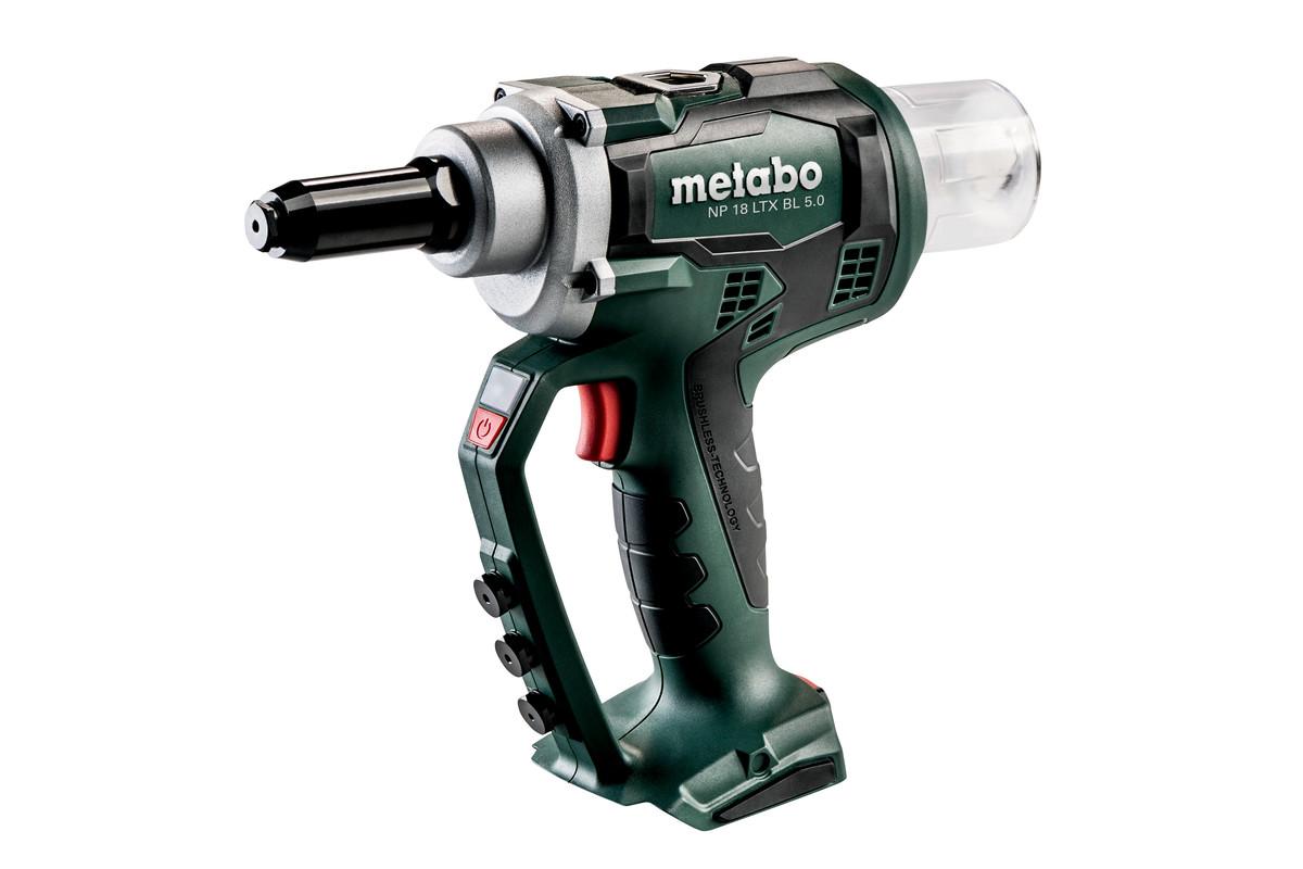 Metabo NP 18 LTX. Popnaglepistol / blindnaglepistol på batteri.