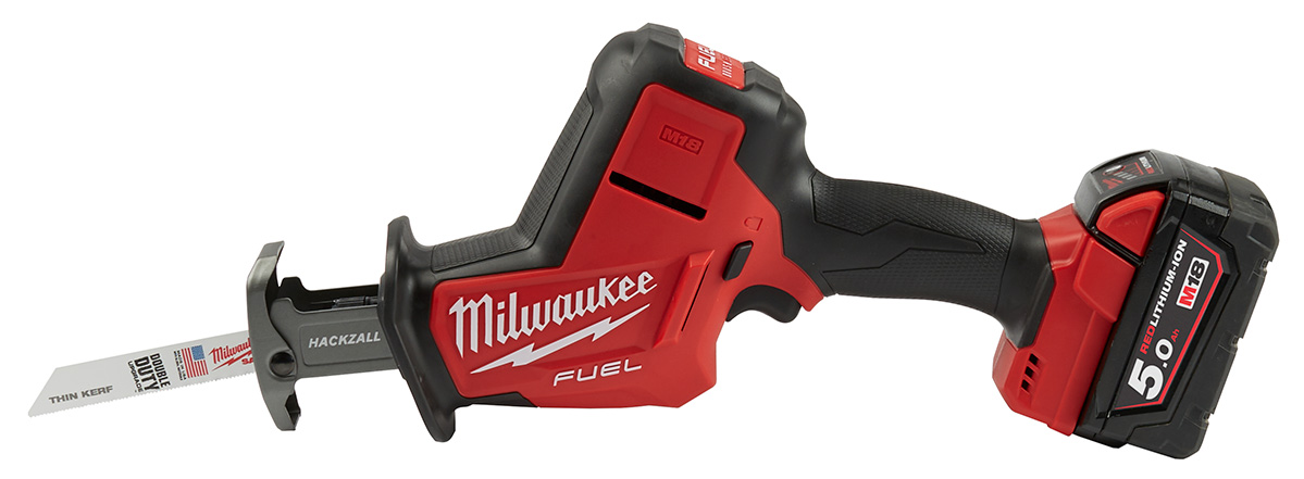 Milwaukee M18 Fuel Hackzall énhånds bajonettsag.