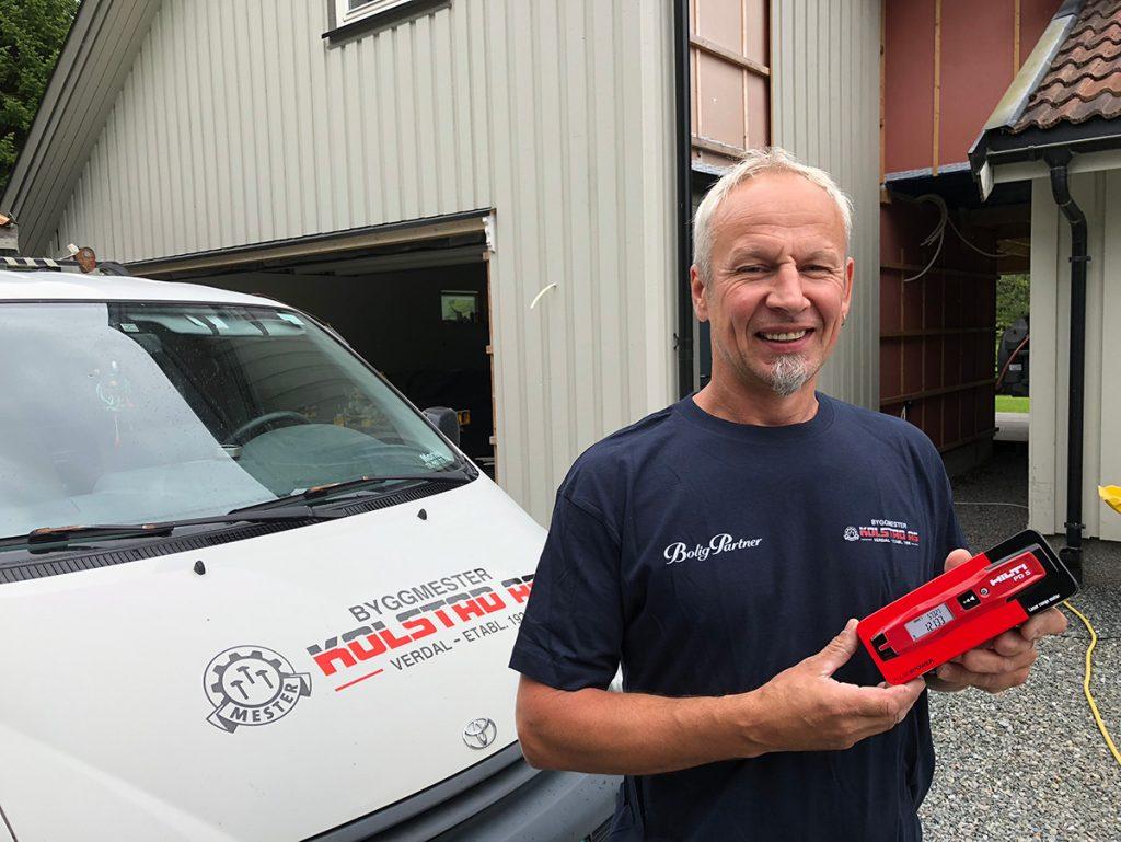 Tømrer Ole Bernt Kjelaas - Hilti PD5