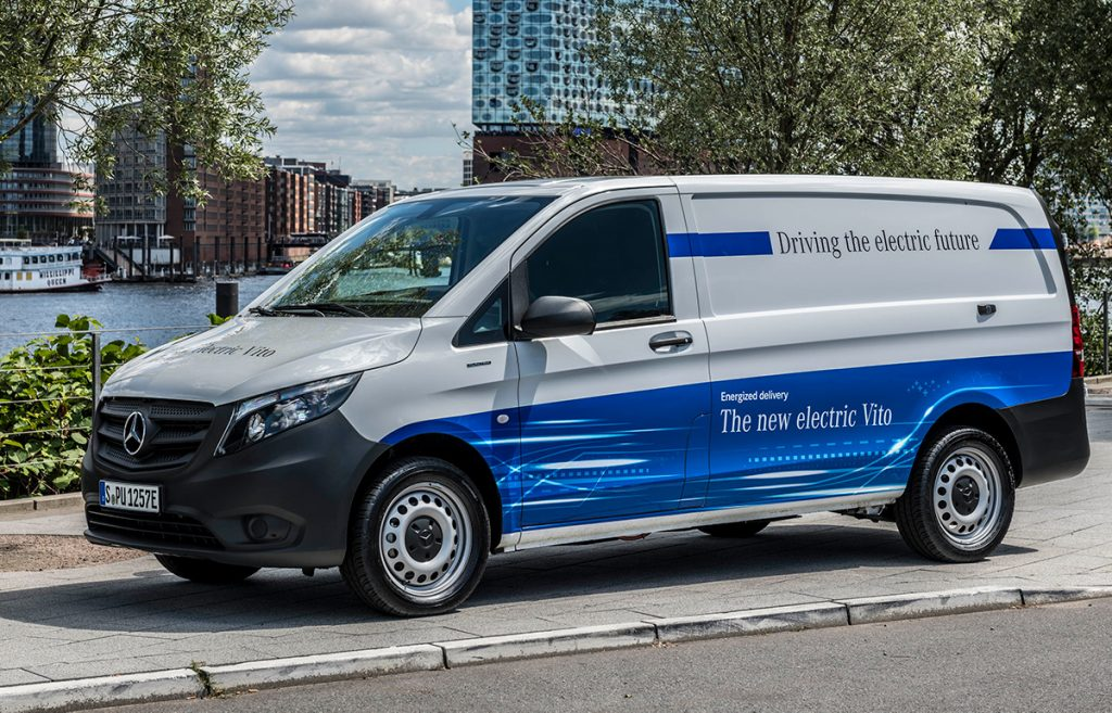 Mercedes-Benz elektrisk Vito kommer snart til Norge.