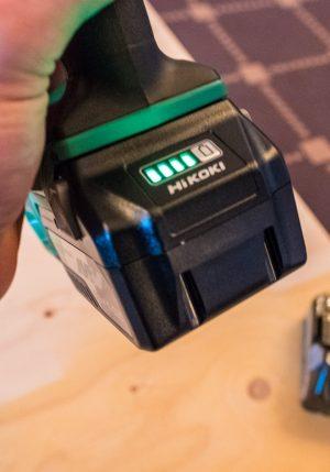 HURRA: Savnet indikator på Hitachi batterier? Den er på plass på de nye Multi Volt batteriene!
