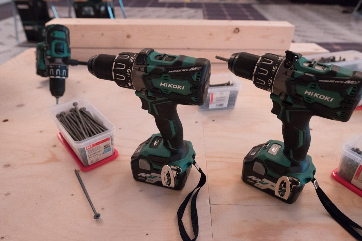 Hikoki Multi Volt Drill / borskrumaskin