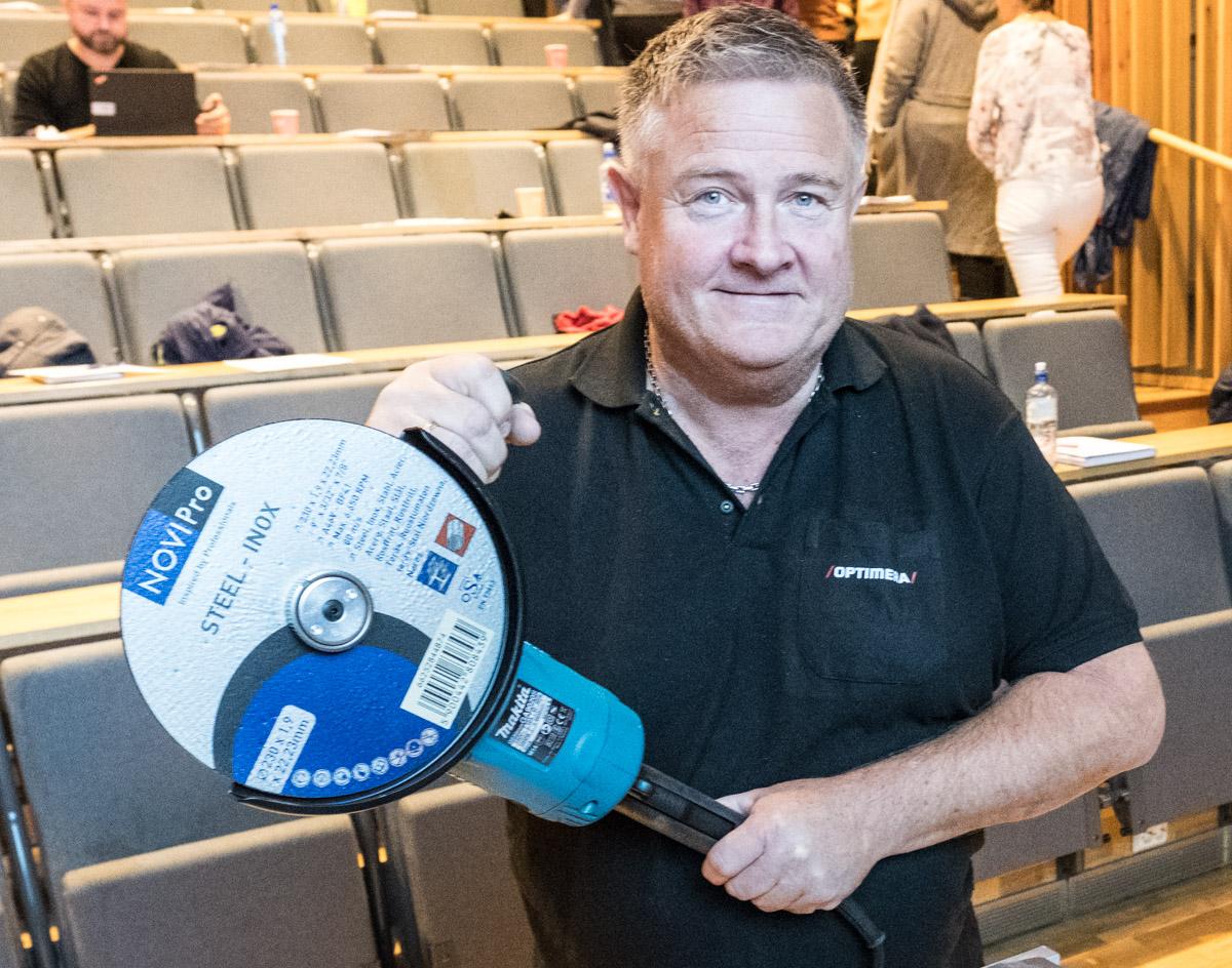 Lars Inge Dahl. Proffselger VF (verktøy, festemidler) i Optimera.