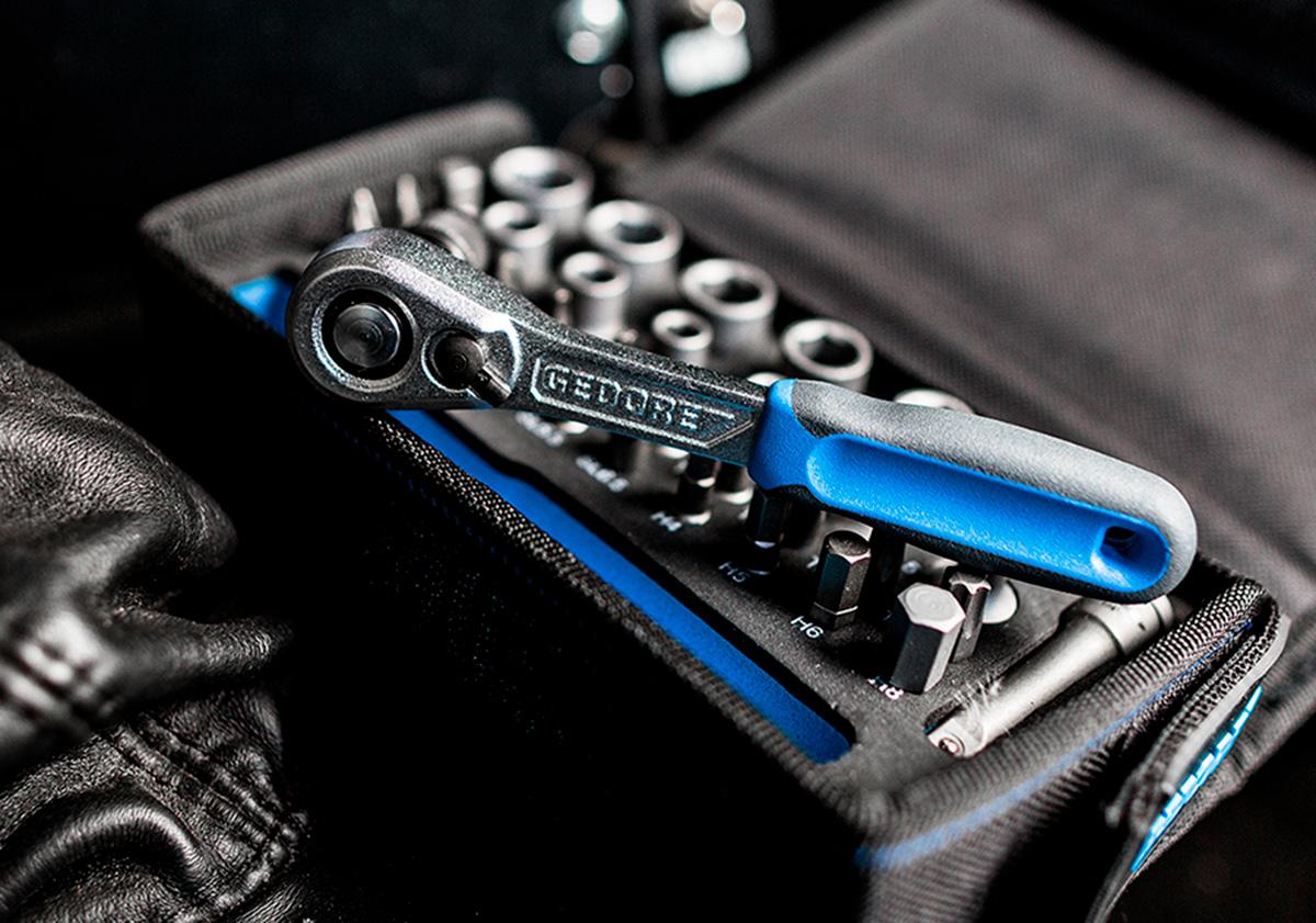 Gedore blå verktøysett