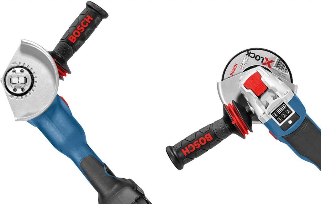 X-Lock låses opp med den røde spaken
