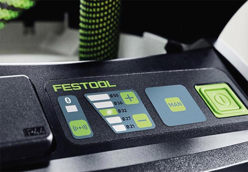 Nye Festool støvsugere har både Bluetooth og stikkontakt.