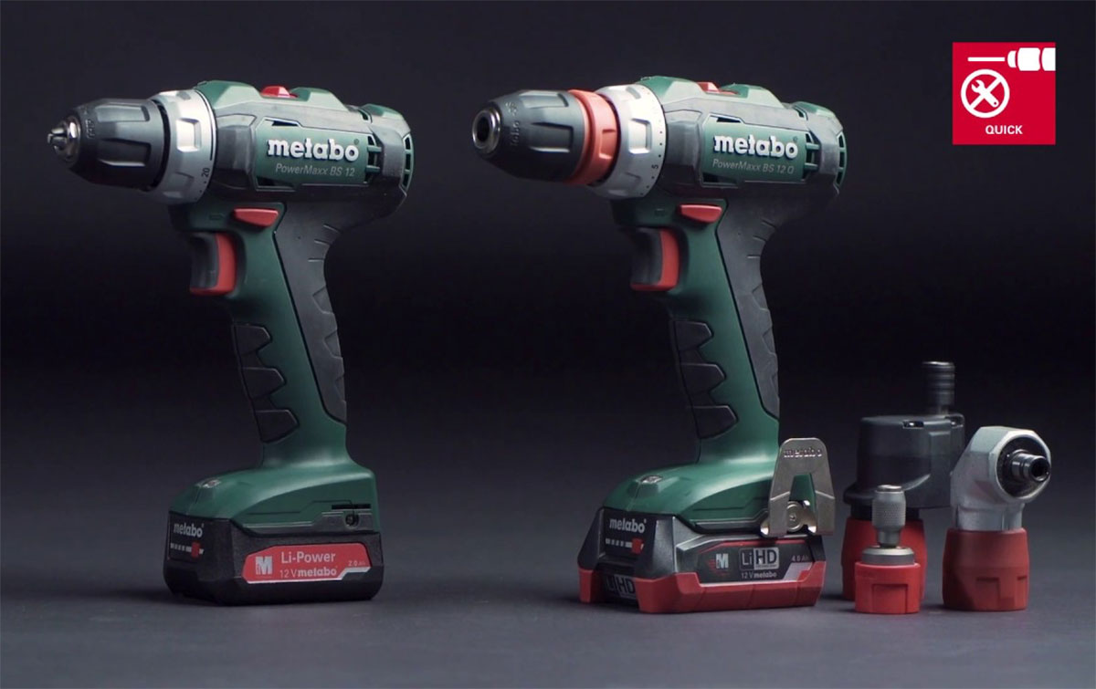 Metabo 12 volt chucker