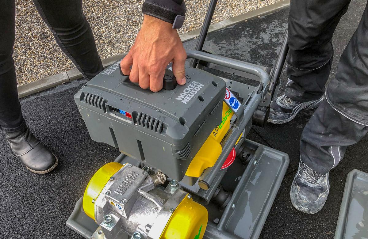 Wacker Neuson 48V batteri.