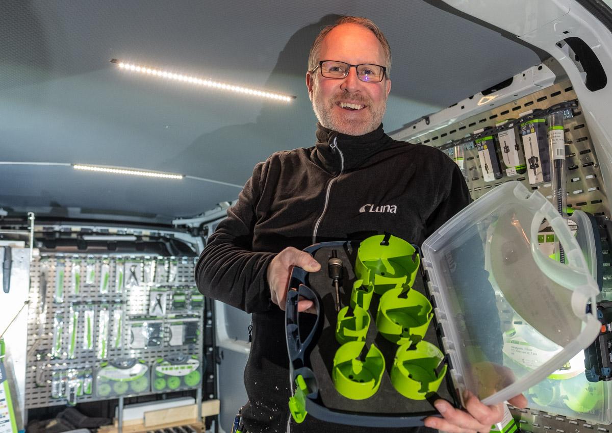 Marius Bang, produktsjef i Luna Norge AS.