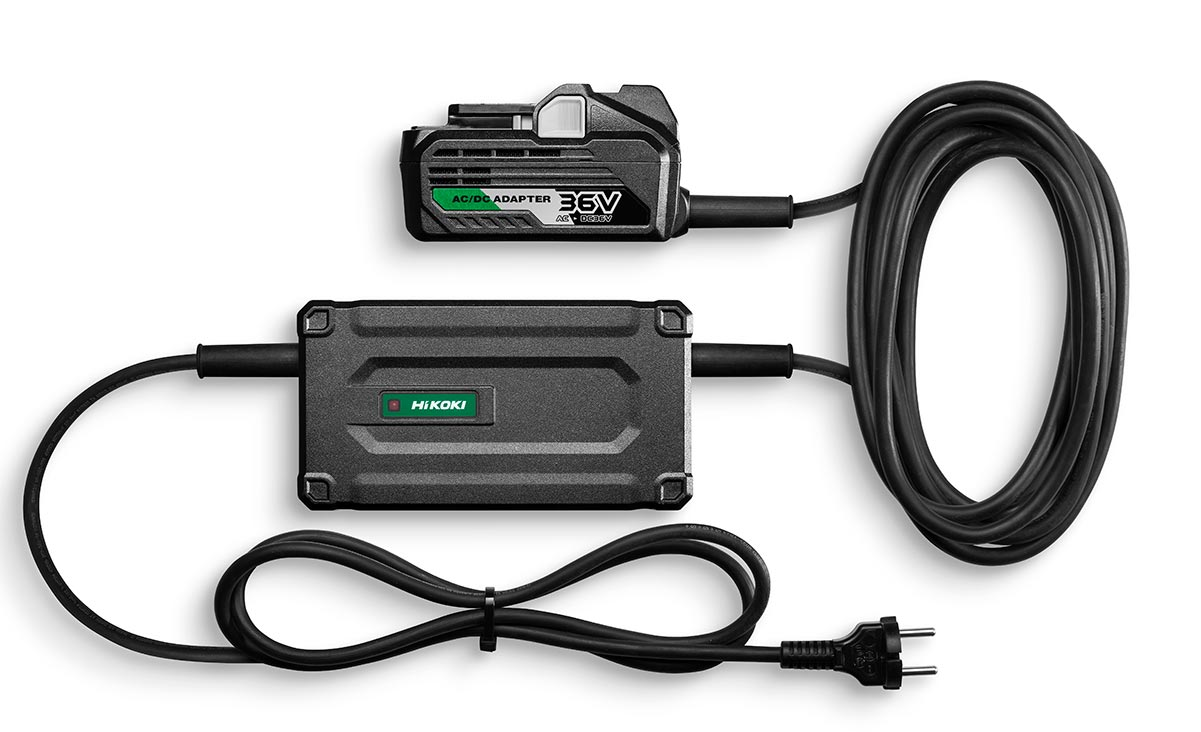 Hikoki ET36A Multi Volt 230V adapter.