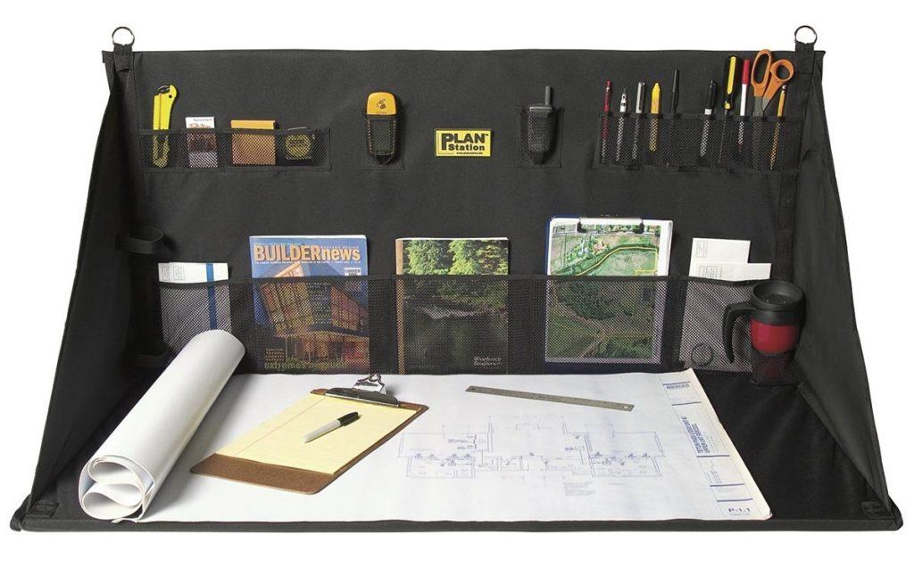 Planstation Pro. Sammenleggbart skrivebord.