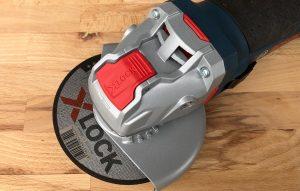 Bosch X-Lock vinkelsliper