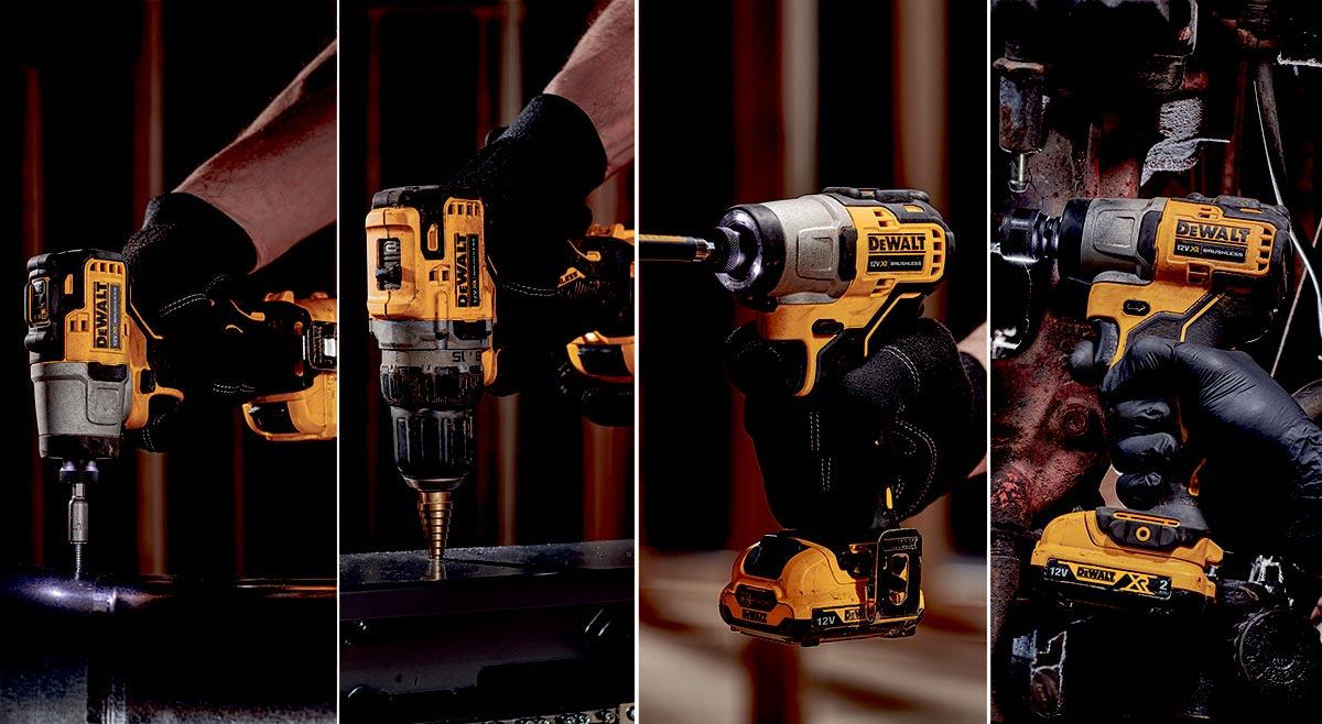 Dewalt maskiner montasje