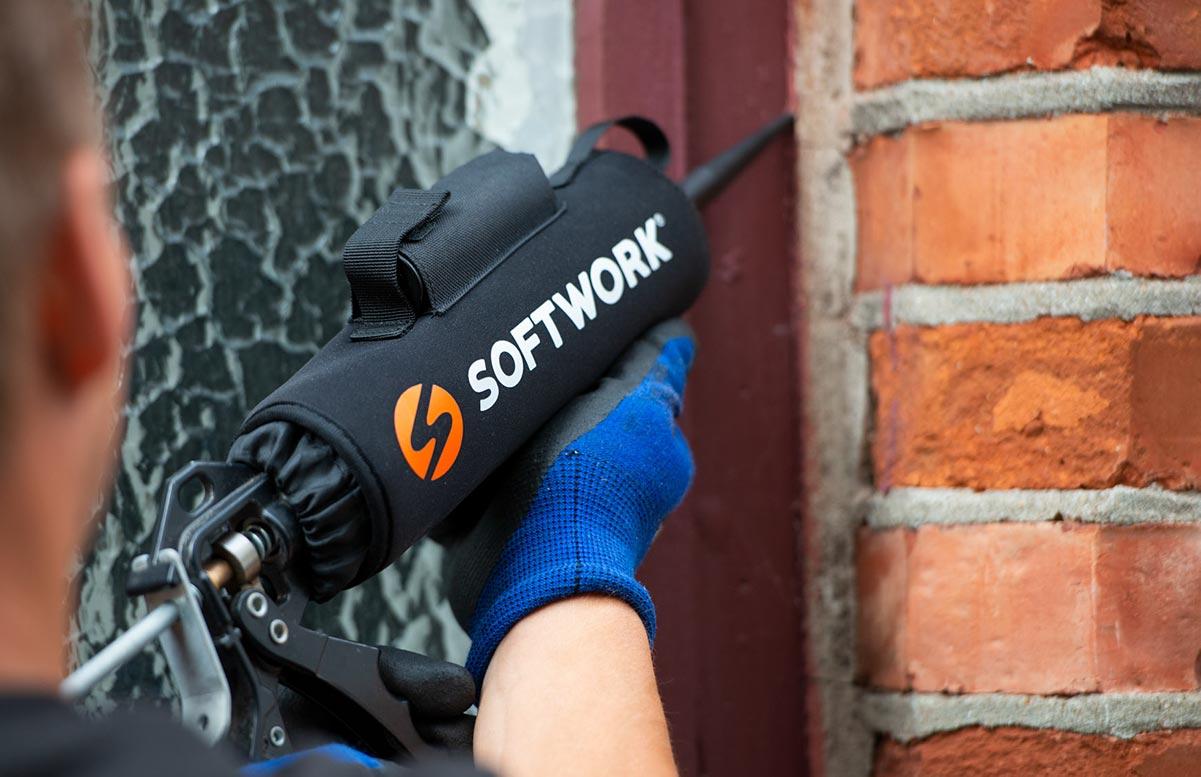Fugepistol med Softwork fugevarmer