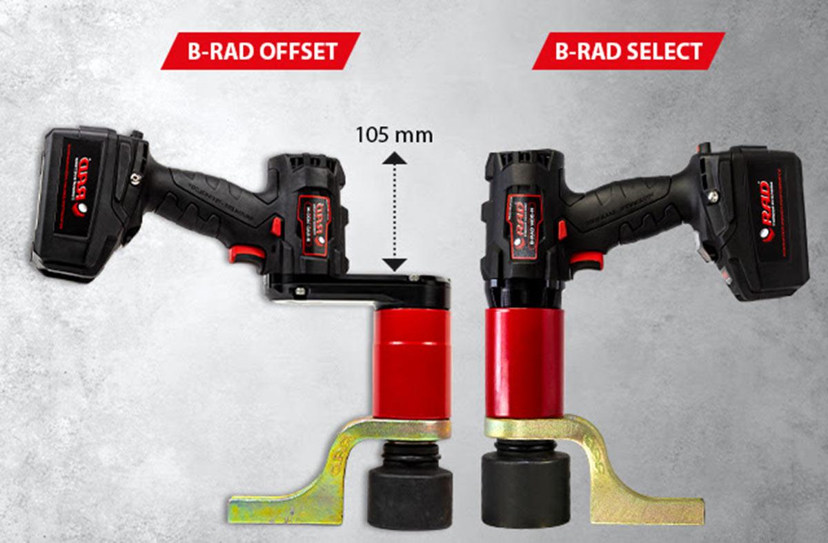 B-Rad standard (t.h.) og Offset.