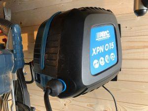 Test av Abac XPN O15 - enkel kompressor rett på veggen