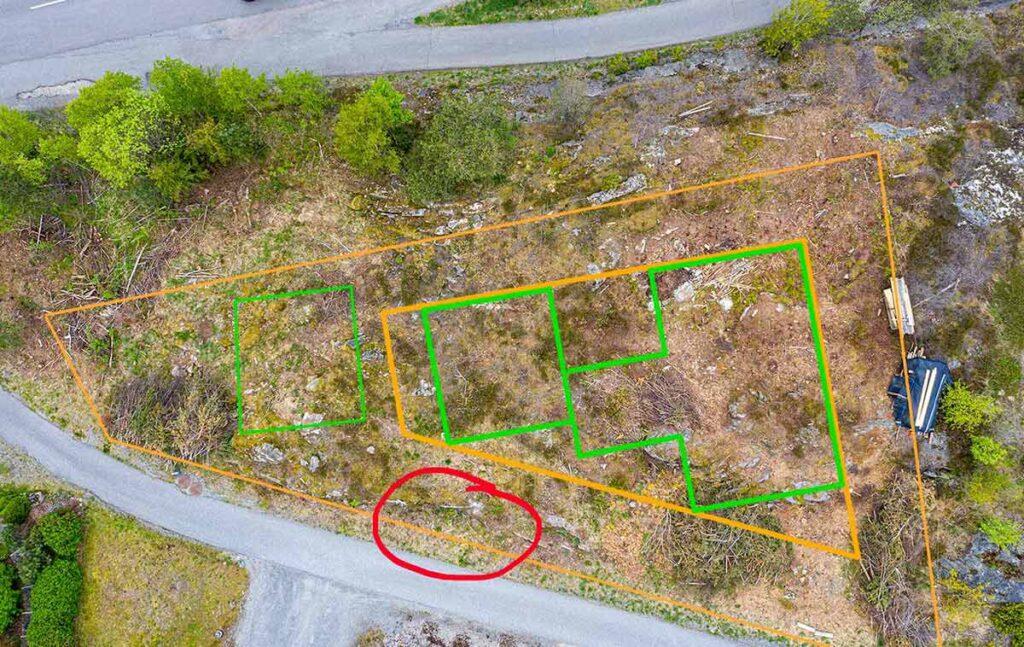 H22 - dronefoto av tomt