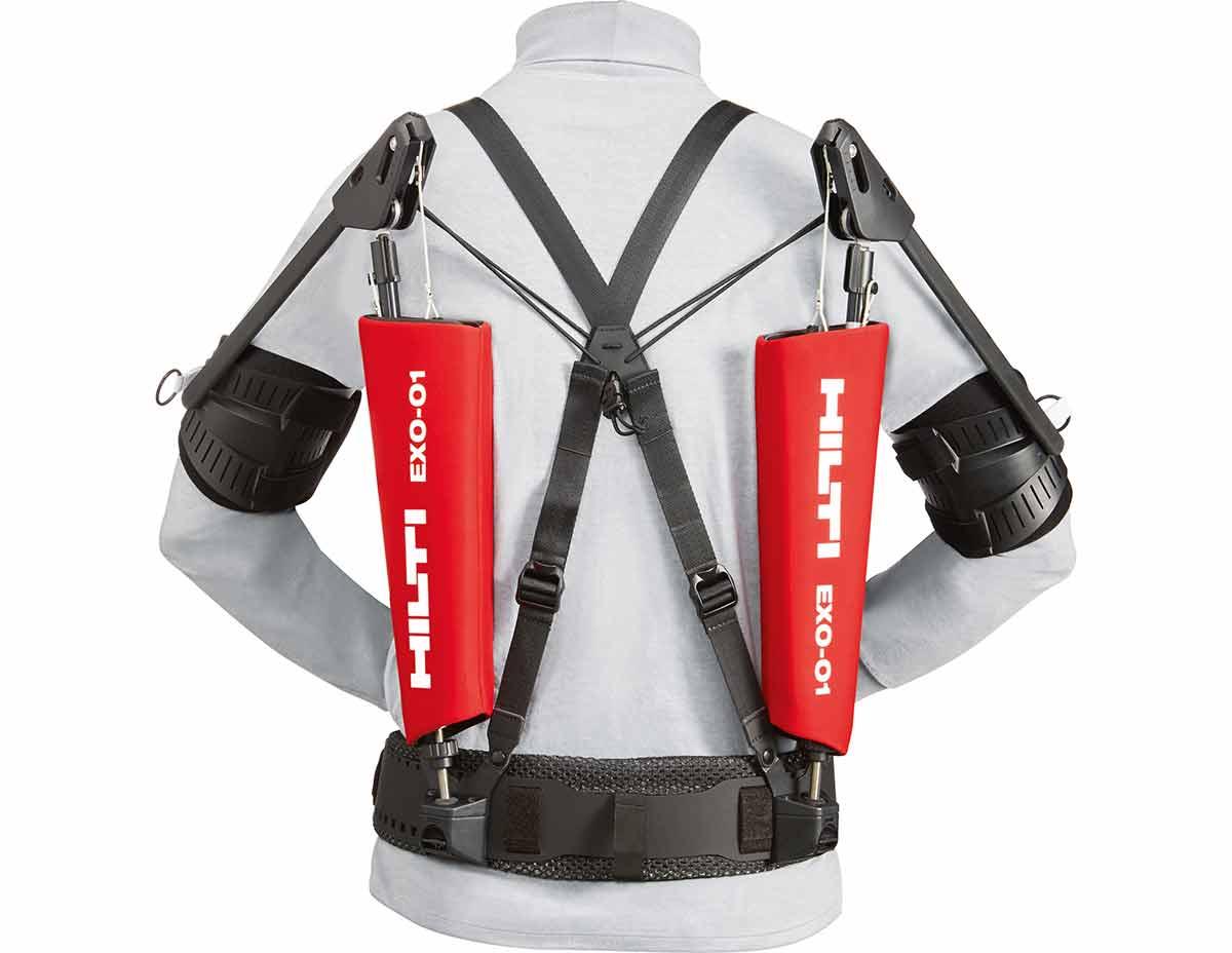 Hilti EXO-01 eksoskjelett exoskeleton