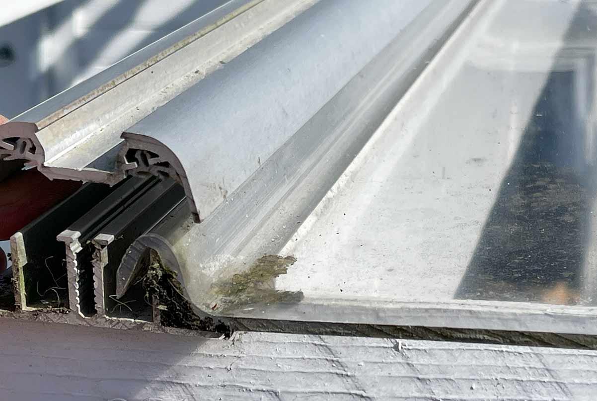 Sunglaze takplate etter fire år