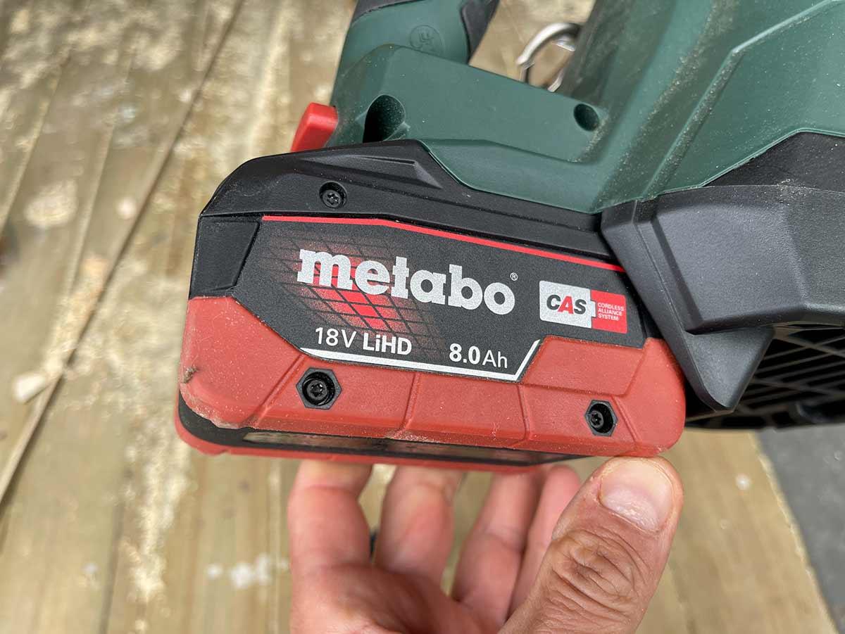 Metabo 8Ah LIHD batteri