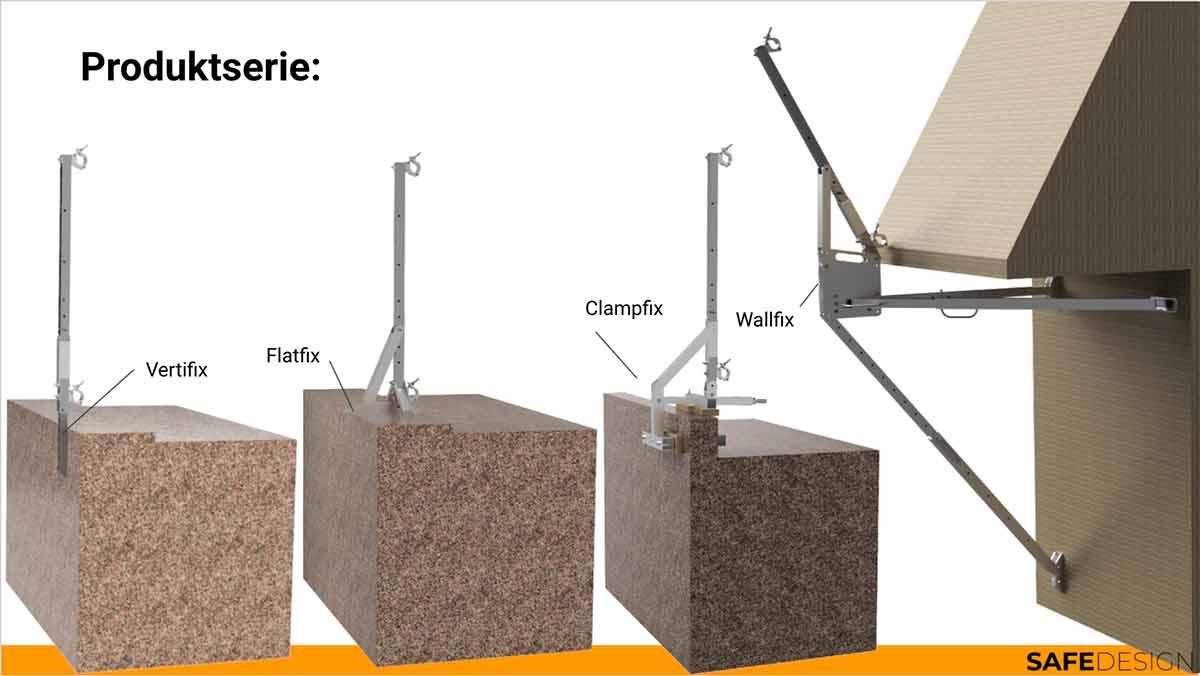 Roofbarrier festesystemer