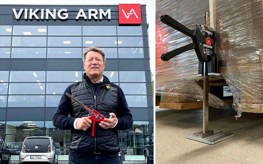 Øivind Resch og Viking Arm